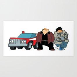 Cops Art Print