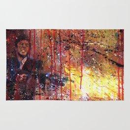 Tony Montana in Scarface Rug