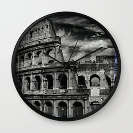 Coliseum, Rome Wall Clock