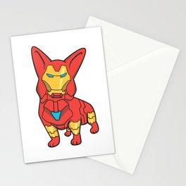 Iron Corgi Stationery Cards