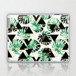 Monstera Leaf Triangle Laptop & iPad Skin