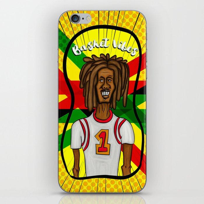 Rasta basket vibes iPhone Skin