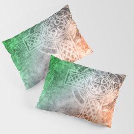 Irish Celtic Cross Pillow Sham