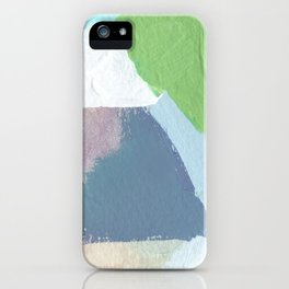 Square Fields iPhone Case