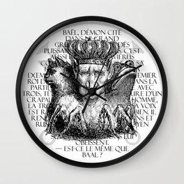 Hierarchia Inferni - Bael Wall Clock