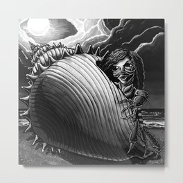 Dark Zodiac: Cancer Metal Print