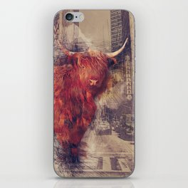 Sightseeing Cattle iPhone Skin