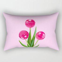 LOLLIPOP TULIPS PINK Rectangular Pillow