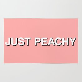 JUST PEACHY Rug