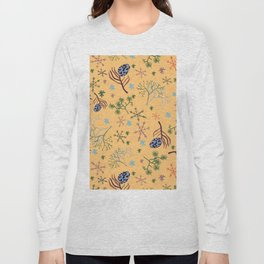 Winterpattern2 Long Sleeve T-shirt