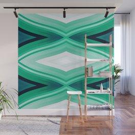 stripes wave pattern 6v2 ori Wall Mural