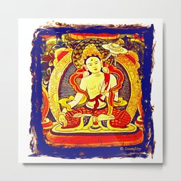 Thanka (1) Metal Print