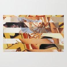 Glitch Pin-Up Redux: Vanessa Rug