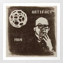 Bucky and his Ball Art Print