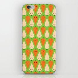 Happy Carrots & Parsnips iPhone Skin
