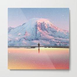 Mount Rainier Washington State Metal Print