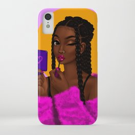 lipgloss iPhone Case