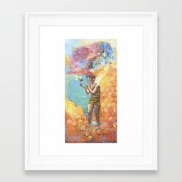 Sweet Dream Framed Art Print