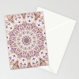 Bohemian Soul Mandala Pastel Stationery Cards