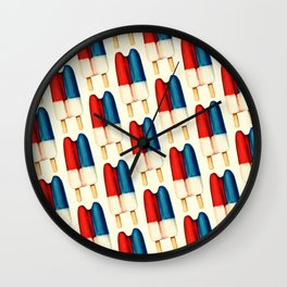 Popsicle Pattern - Double Wall Clock