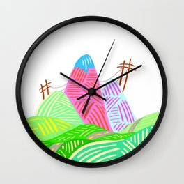 Wonder Valley Wall Clock