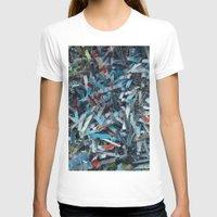 confetti T-shirts featuring Confetti by Adam Klimovic