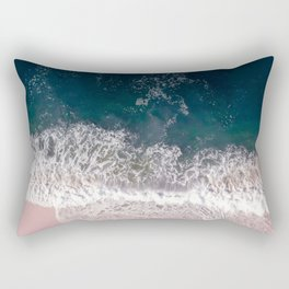 Sands of Pearly Pink Rectangular Pillow