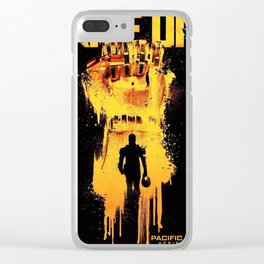 Pacific Rim Uprising 2018 RISE UP Clear iPhone Case