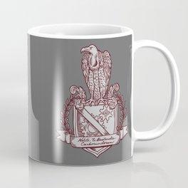 Nolite Te Bastardes Carborundorum_Burgandy Crest Coffee Mug