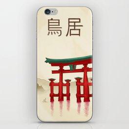 Torii Gate - Painting iPhone Skin