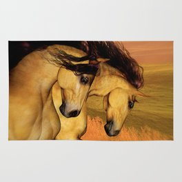 HORSES - The Buckskins Rug
