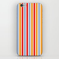 annie hall iPhone & iPod Skins featuring Annie by Pattern Pillows