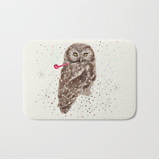 Mr.Owl III Bath Mat