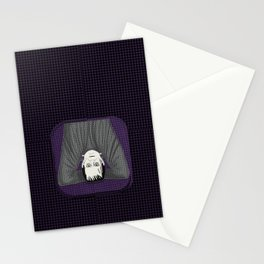 Frankenstein head stand Stationery Cards