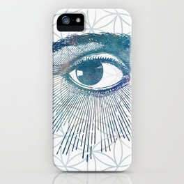 Mandala Vision Flower of Life iPhone Case