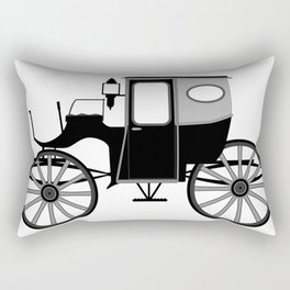 Old Style Carriage Rectangular Pillow