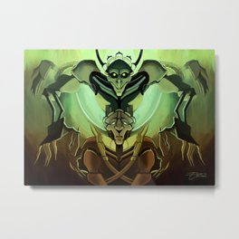 Creepy DiMA Metal Print