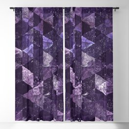Abstract Geometric Background #27 Blackout Curtain