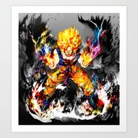 goku Art Prints featuring Goku by ururuty