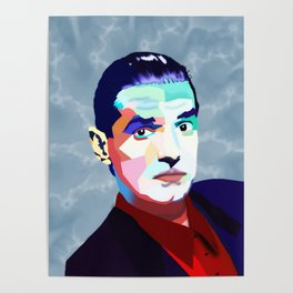 Portrait of Hans Holzel (Falco) Poster