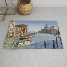 Venice - Grand Canal - Italy - Canal - Venetian - Boat. Little sweet moments. Rug