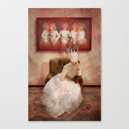 Strange things happen... Canvas Print