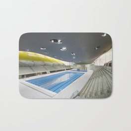 London Aquatics Centre | Zaha Hadid architect Bath Mat