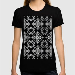 Victorian Gothic Holiday Wallpaper T-shirt