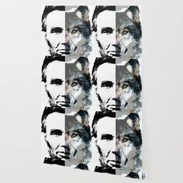 Political Debate - Abraham Lincoln Art by Sharon Cummings Wallpaper