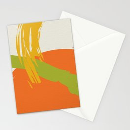 Colorful Brush Strokes AP176-10 Stationery Cards