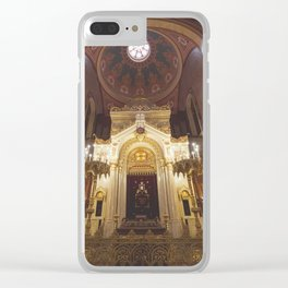 Shalom. Clear iPhone Case