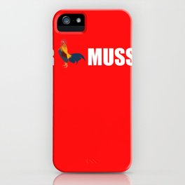 The Cock Needs To Run Funny Drinking Party Gift iPhone Case