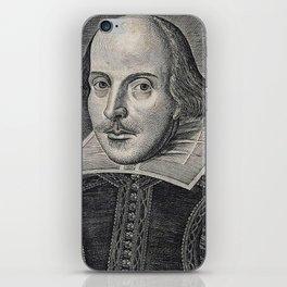 William Shakespeare Portrait iPhone Skin