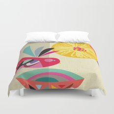 Bird Bath Duvet Cover